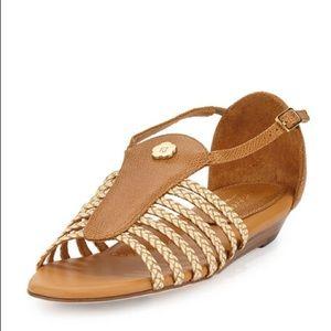 ERIC Javits Greco Demi Wedge Sandals